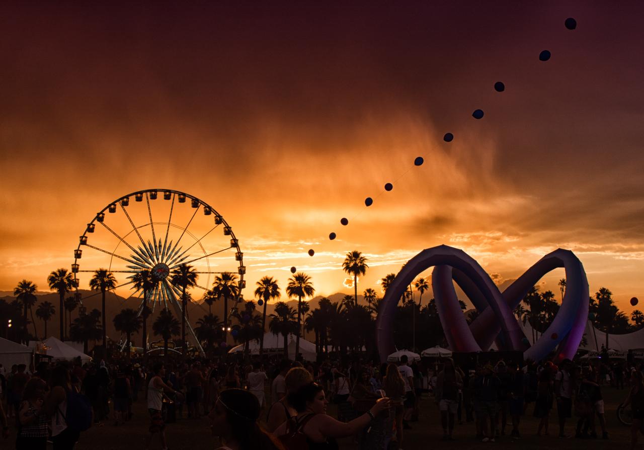 Coachella Festival - Estados Unidos