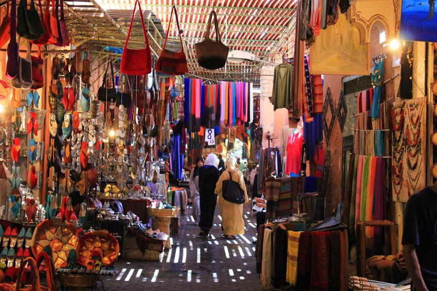 Souk em Medina - Fez (Marrocos)
