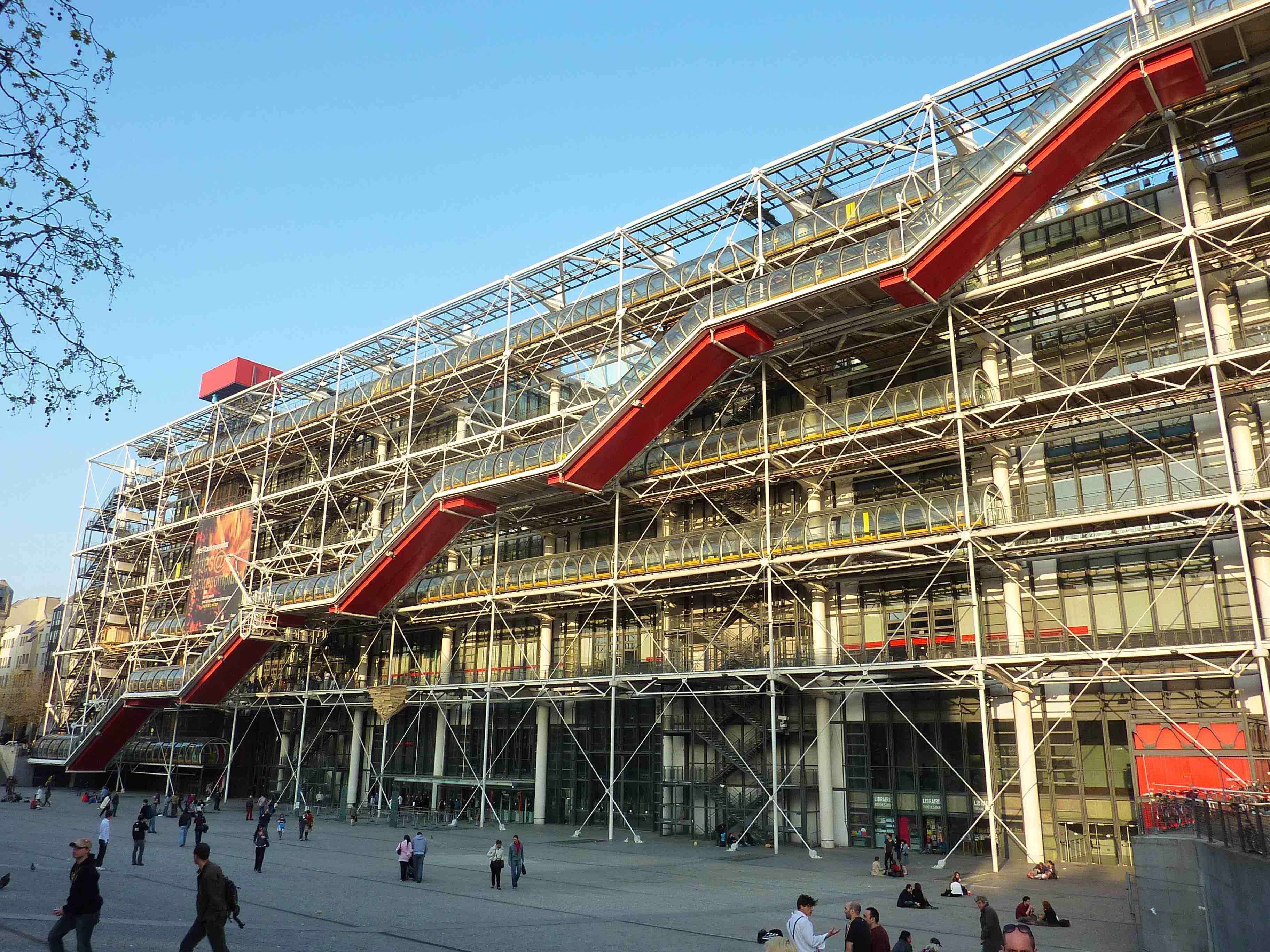 Museu Pompidou - Paris
